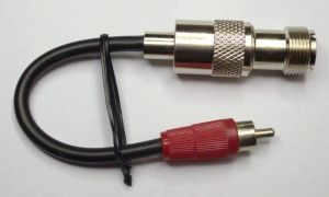 RCA phono - PL adapter